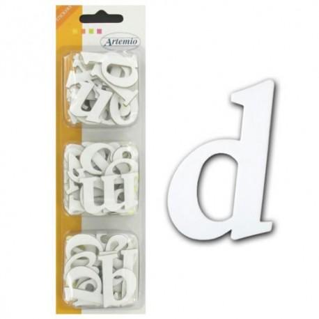 Alfabeto Carton autoadhesivo minuscula