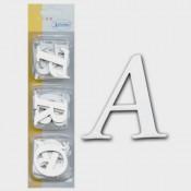 Alfabeto Carton autoadhesivo mayúscula