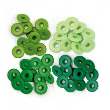 Surtido Ojales Anchos - Green