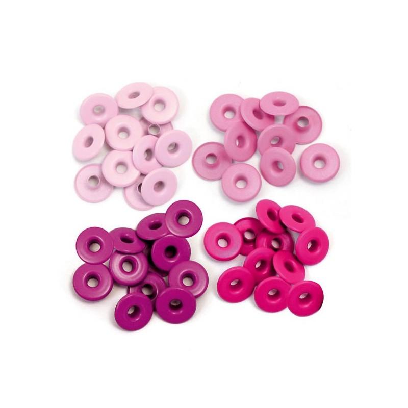 Surtido Ojales Anchos - Pink