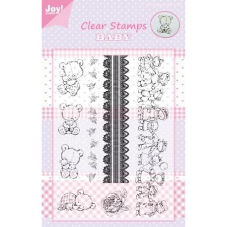 Set sellos acrilicos Bear Farandole