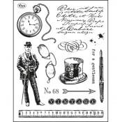 Silicone Stamp Gentleman