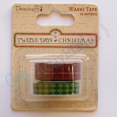 Twelve Days of Christmas Washi tape