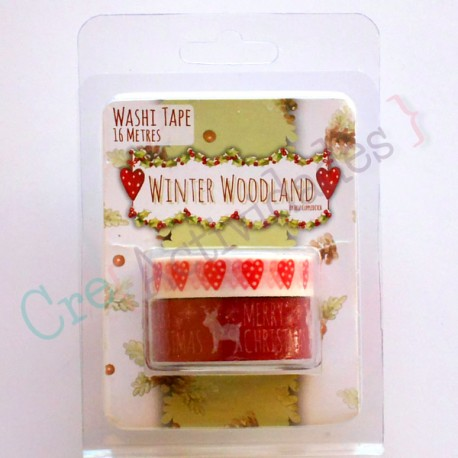 Winter Woodland Washi Tape
