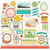 Simple Life Element Stickers