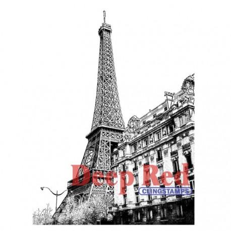 Sello Cling - Torre Eiffel
