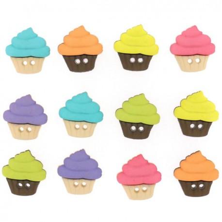 Botones - Cupcakes