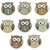 Botones - Owls