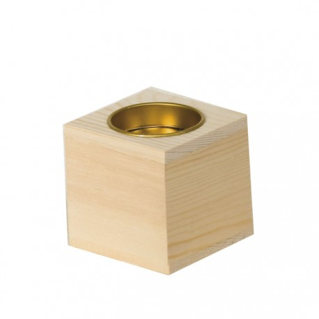 Mini Cubo Candelero