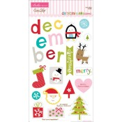 Christmas Cheer Chipboard - Icons