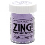 Zing Opaque Emboss - Lavender