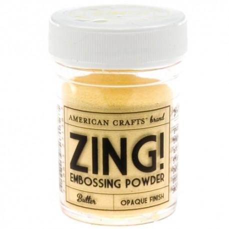 Zing Opaque Emboss - Butter