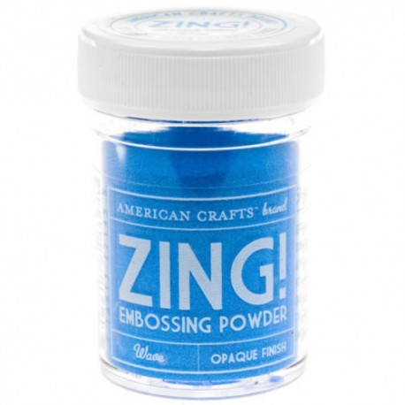 Zing Opaque Emboss - Wave