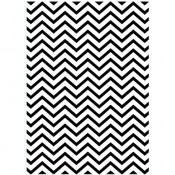 Embossing Folder - Chevron