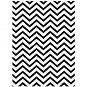 Embossing folder - Chevron Background