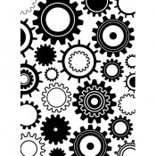 Embossing Folder - Steam Punk Gears