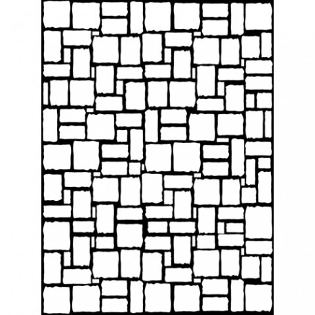 Embossing Folder - Brick Wall