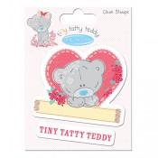 Sello acril. Tiny Tatty Heart