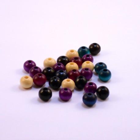 Round Wood Beads 10mm Fashion