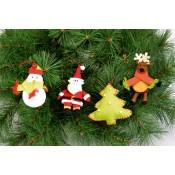 Kit Fieltro Deco Navidad