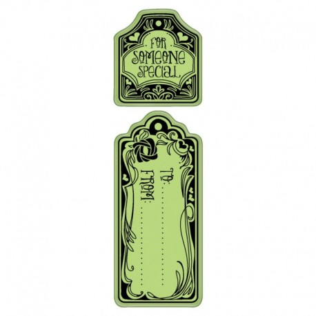 To & From - Cling mini Stamp