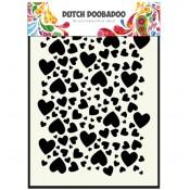 Stencil Hearts