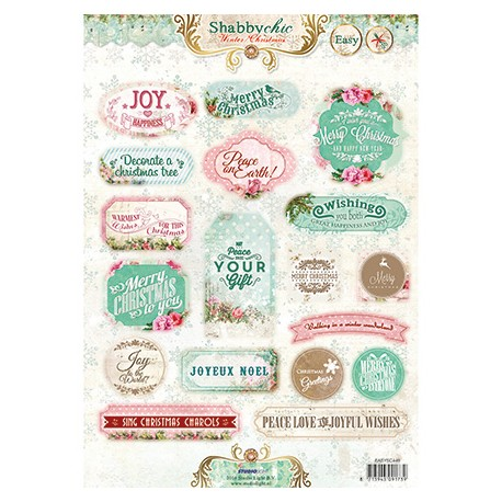 Easy 3d Christmas Shabby chic
