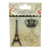 Sellos acrílicos Torre Eiffel