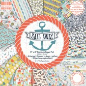 Papel estampado Sail Away 20x20