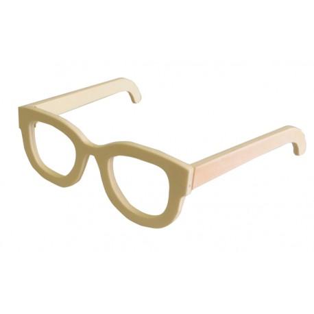 Gafas de madera