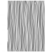 Embossing folder Darice - Thin Lines