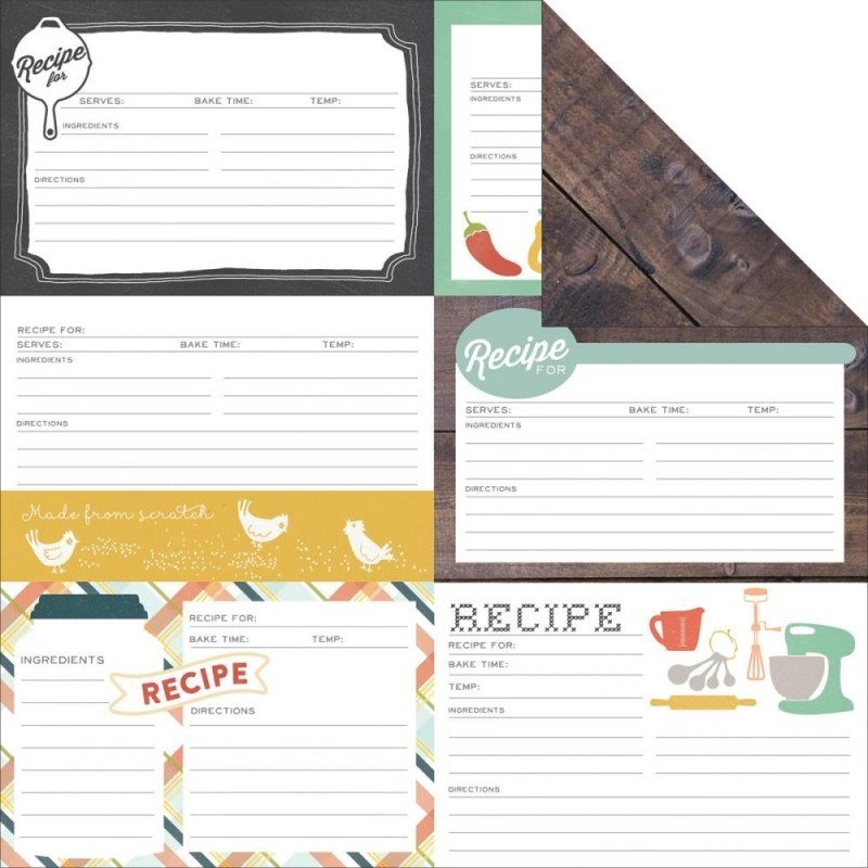Made From Scratch - Recipe Cards
