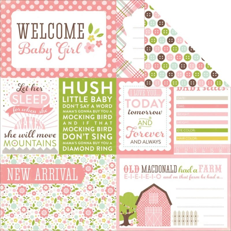 Bundle Of Joy Baby Girl - Welcome
