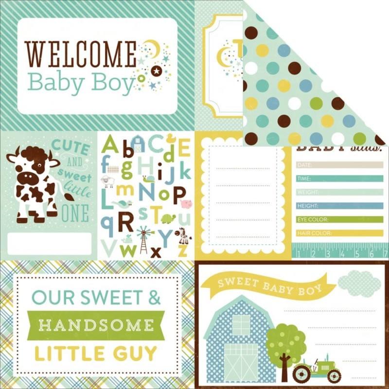 Bundle Of Joy Baby Boy - Welcome