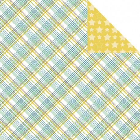 Bundle Of Joy Baby Boy - Plaid