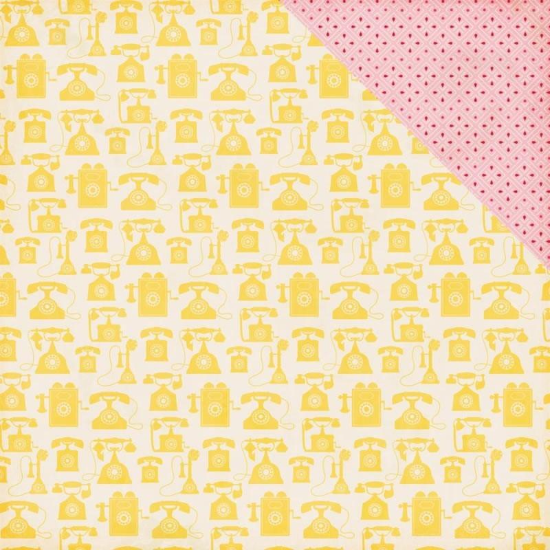 Jack & Jill Girl - Yellow Telephones