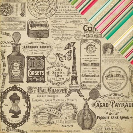 Jack & Jill Girl - Vintage Adds