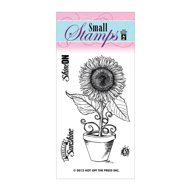 Sunflower Clear Stamp