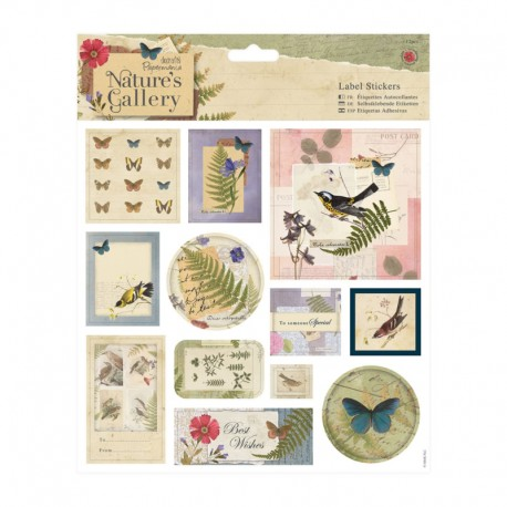 Nature's Gallery Label Stickers