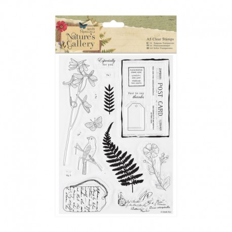 Nature's Gallery Clear Stamps Set