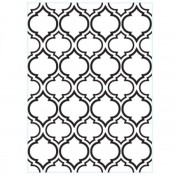 Embossing folder - Quaterfoil Double