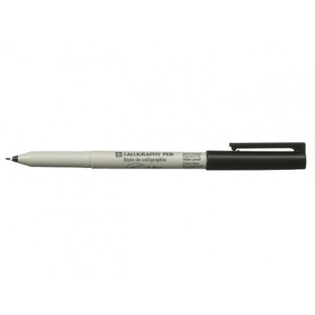 Calligraphy Pen Black 1 mm