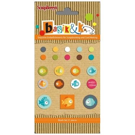 Basic & Ko Decorative Brads 1