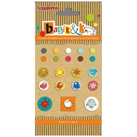 Basic & Ko Decorative Brads 2