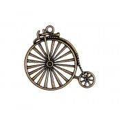 Metal Charms Set Vintage Bicycle