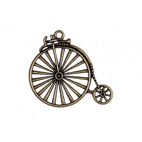 Metal Charms Set Vintage Bicycle