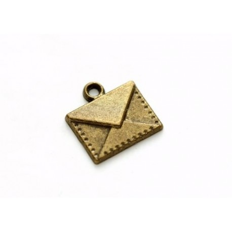 Metal Charms Set Envelope