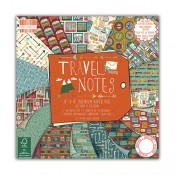 Travel Notes 20x20 paper pad