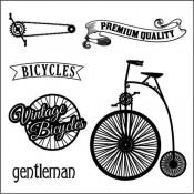 Sellos Acrílico Vintage Bicycle