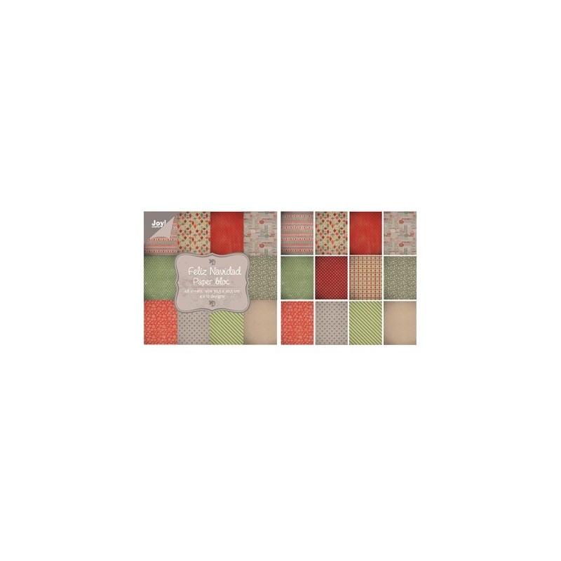 Feliz Navidad 30x30 Paper Pad